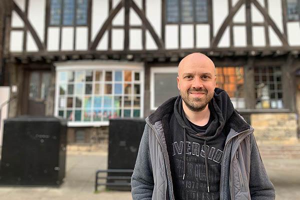 Alex Trembath in Lincoln