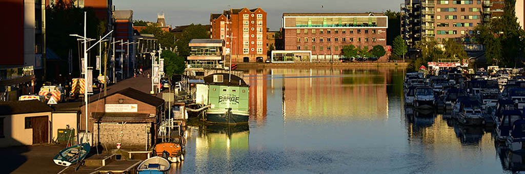 Facts about Lincoln, UK: Brayford Waterfront is the UK's oldest inland harbour