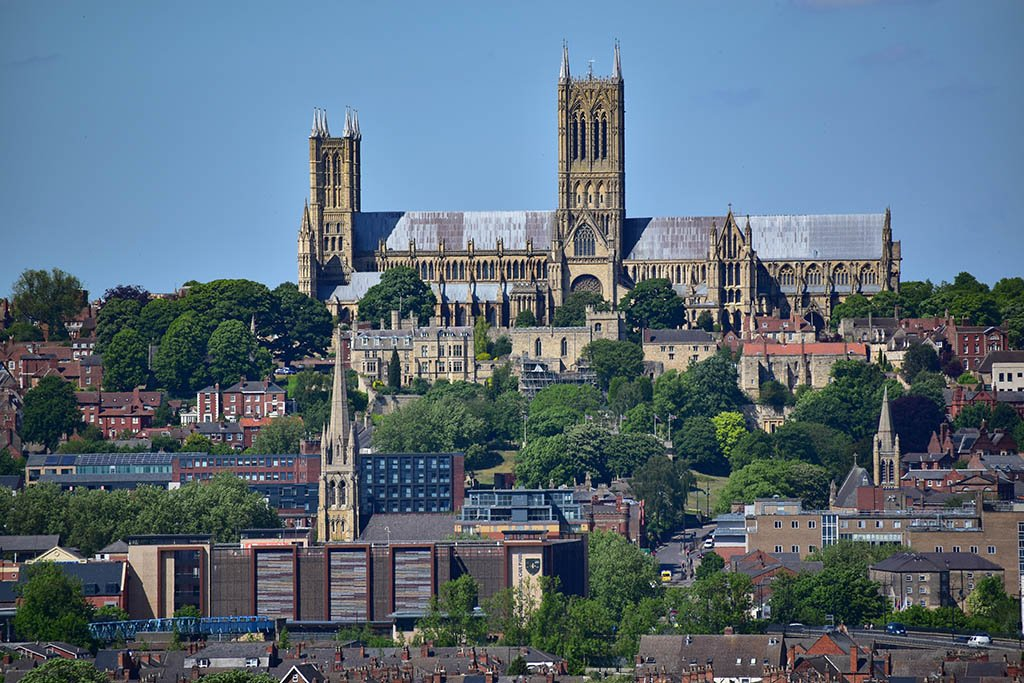 The spectacular Lincoln Cathedral is the city's centrepiece