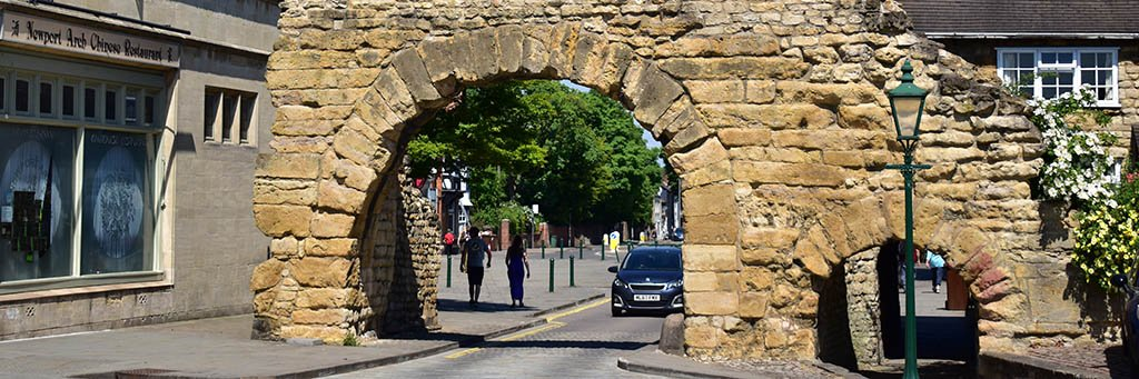 Facts about Lincoln: Newport Arch is the only Roman archway still used for traffic in the UK