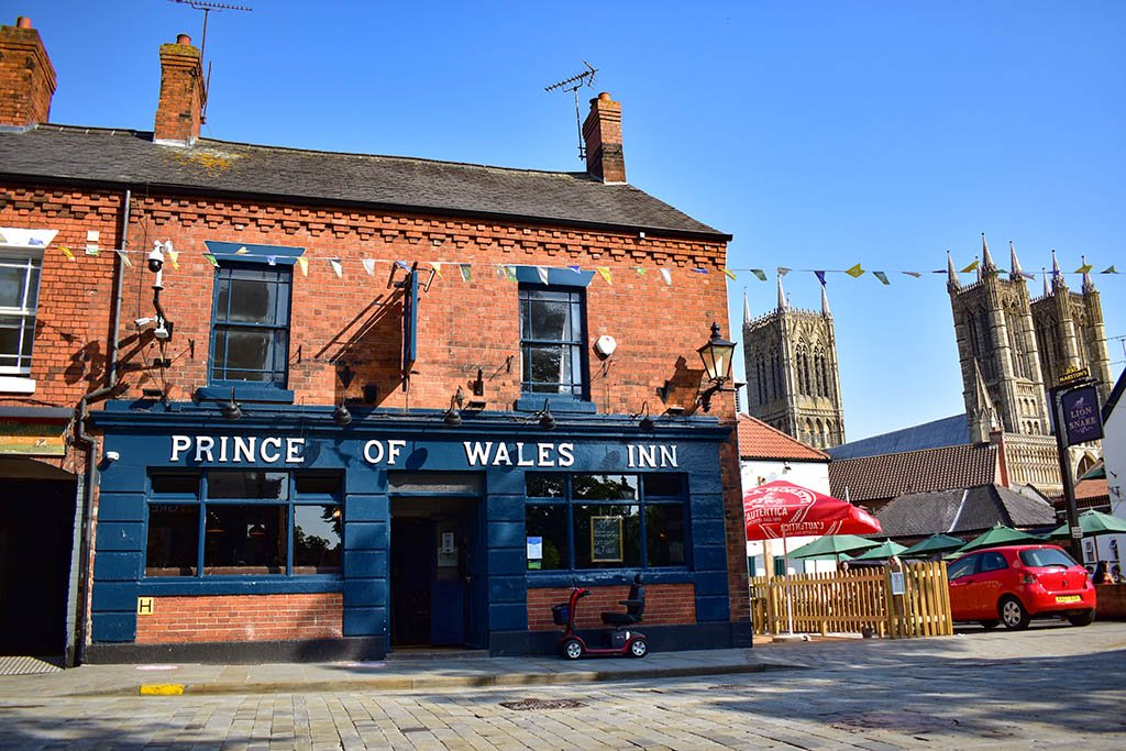 Prince of Wales Inn Lincoln Cathedral