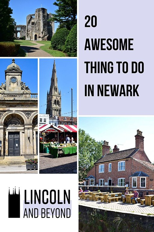 Fancy a day trip to a traditional old English market town? We've compiled some of the best things to do in Newark, Nottinghamshire. #newark #nottinghamshire #daytripsfromlincoln