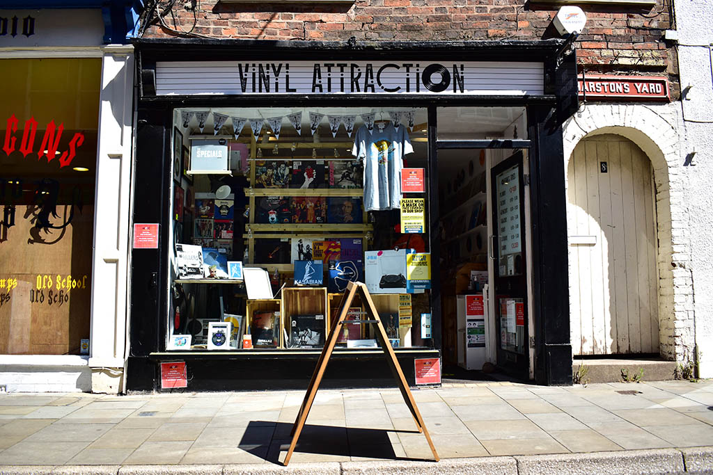 Vinyl Attraction record store