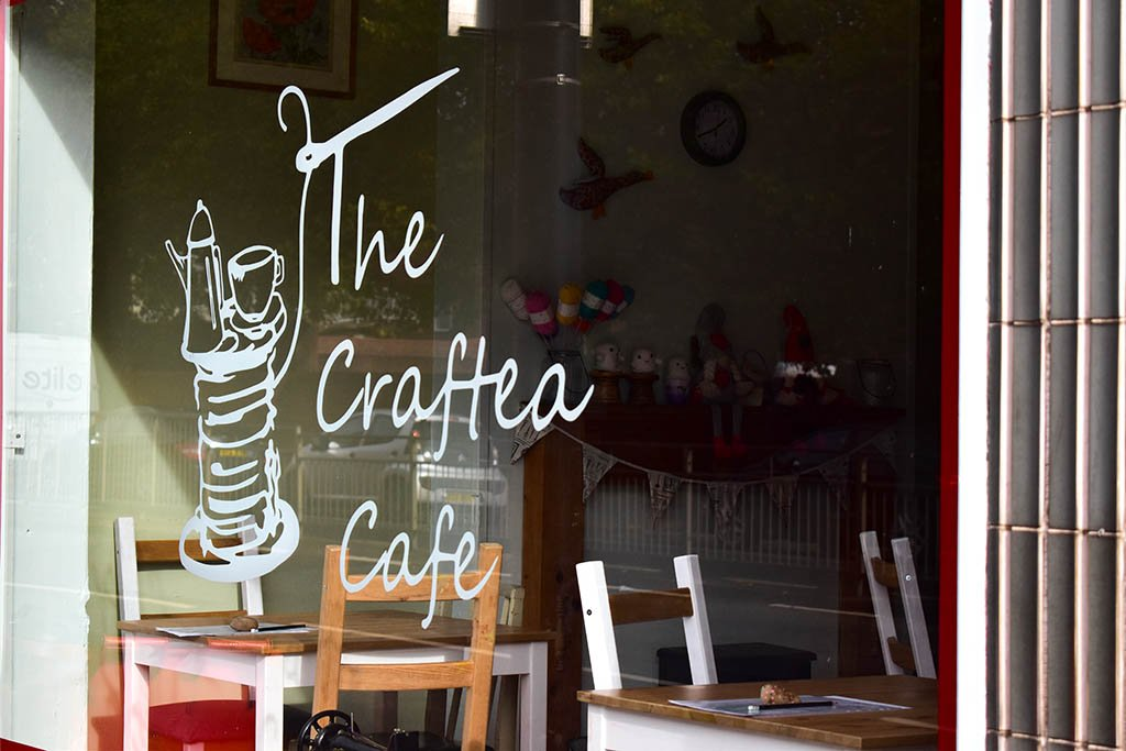 Tea rooms in Lincoln: Craftea Cafe