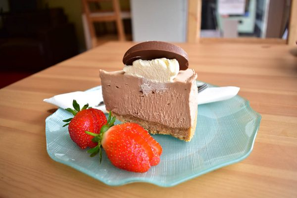 Craftea chocolate orange cheesecake