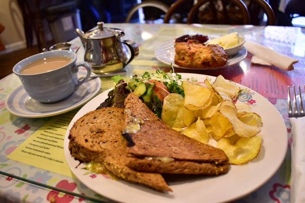 Grayz Tea Room toastie