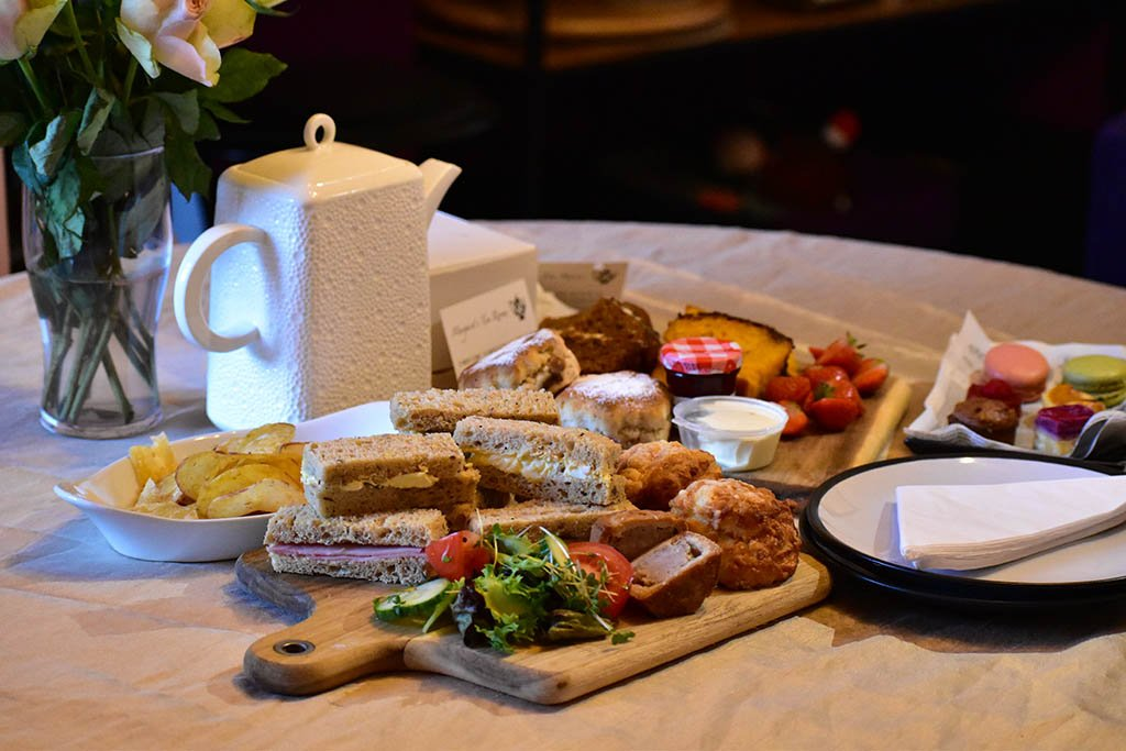 We loved our takeaway afternoon tea from Margaret's Tea Rooms