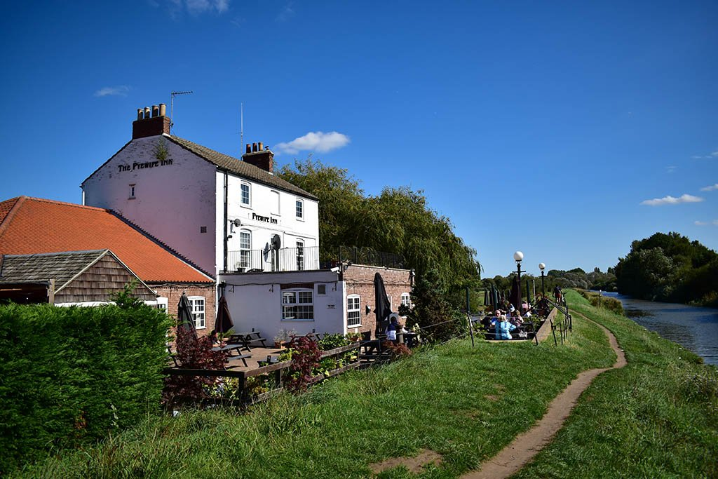 Pyewipe Inn Foss Dyke