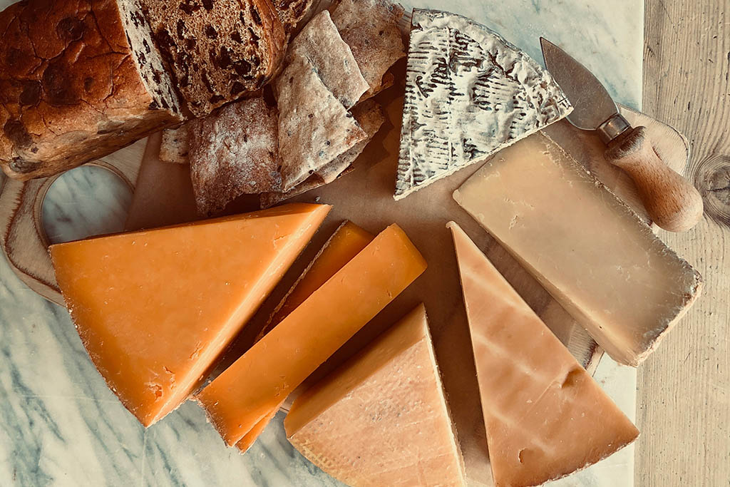 The Cheese Society Taste of Lincolnshire gift box