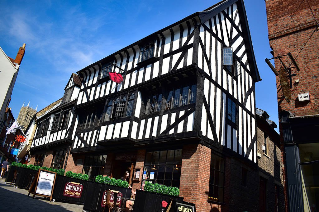 The Cardinals Hat is one of our favourite real ale pubs in Lincoln