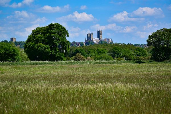 Lincoln Cathedral from Catchwater Drain