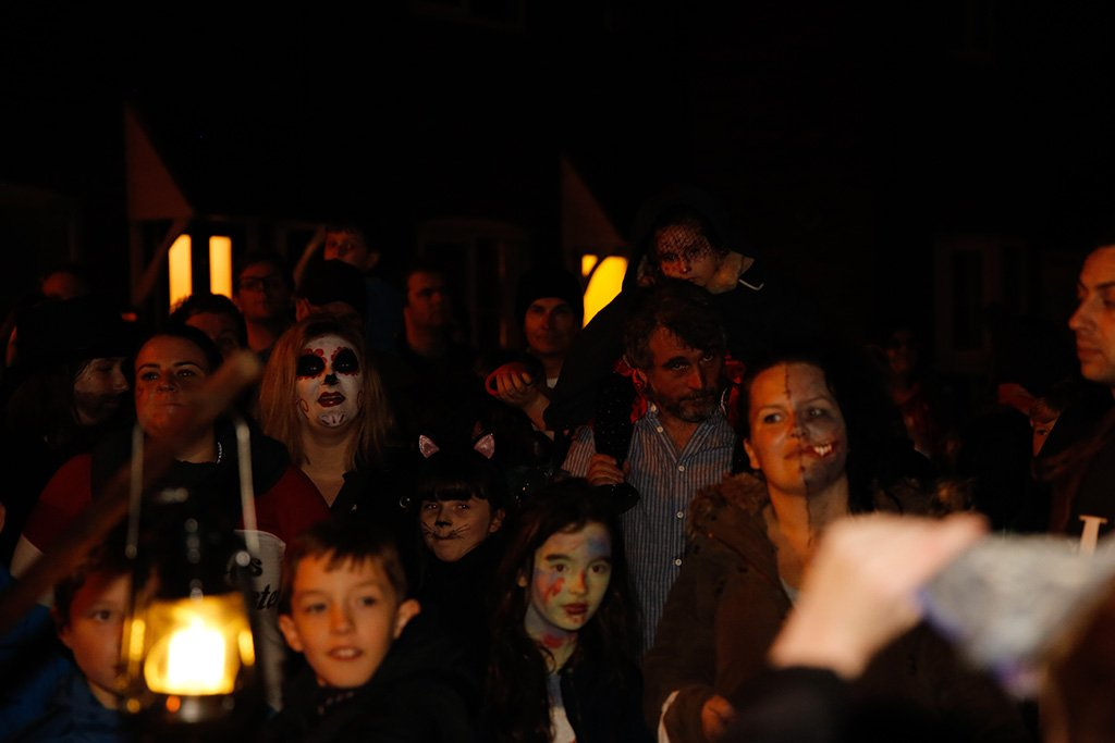 Barton Ghost Walk local audience