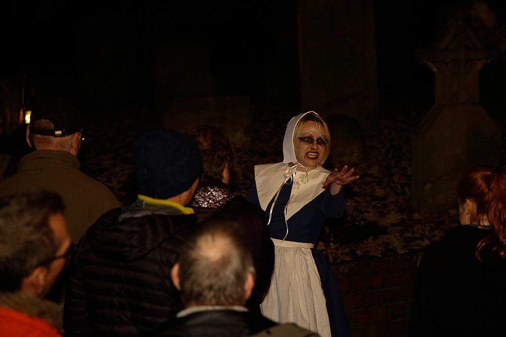 Barton Ghost Walk period costumes