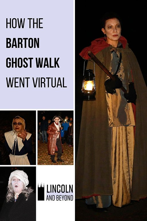 The Barton Ghost Walk, run by a small Lincolnshire theatre group, has been keeping audiences entertained in tough times with a short film. #bartonghostwalk#bartonuponhumber #ghostwalks