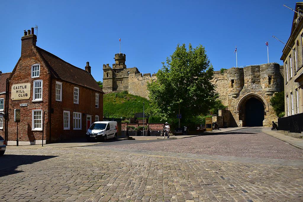 Castle Square Lincoln main gate