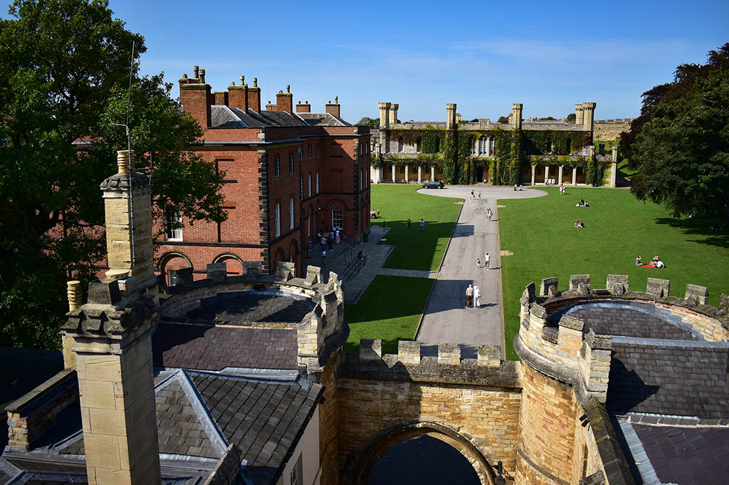 Lincoln Castle grounds