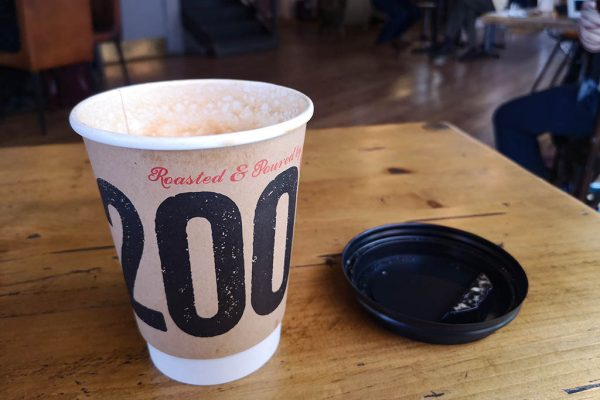 200 Degrees coffee cup