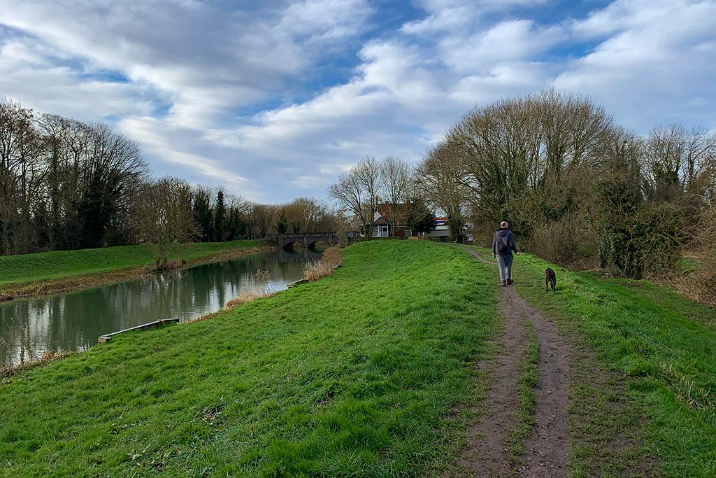 River Witham dog walking