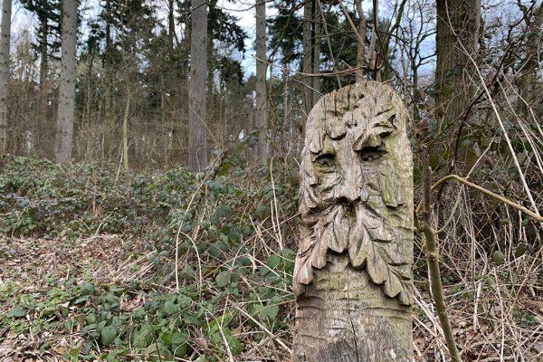 Skellingthorpe Old Wood carving
