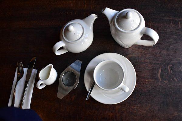 Stokes tea serving