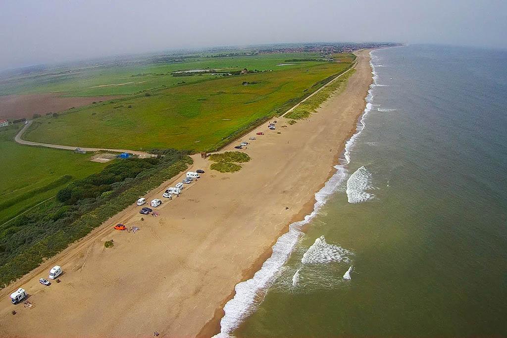 Huttoft Moggs Eye beach