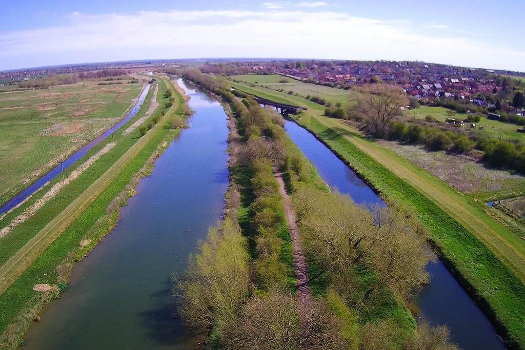 Lincoln to Washingborough walk River Witham