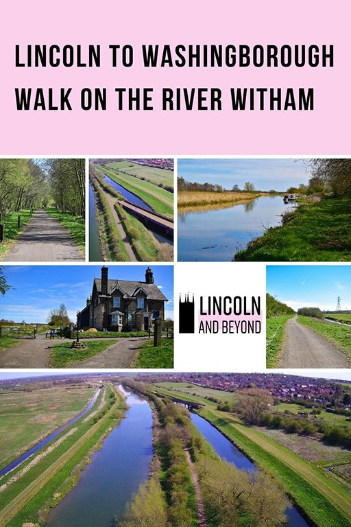 The Lincoln to Washingborough walk follows the first section of the Water Rail Way, a route than runs all the way to Boston. #lincoln #lincolnshirewalks #washingborough #lincolnwalks