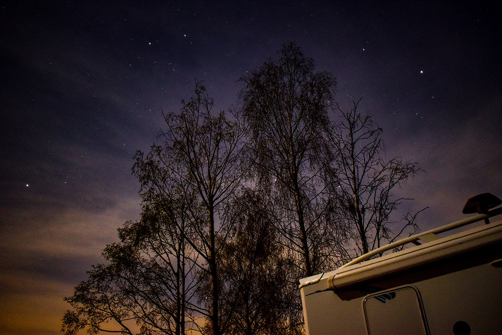 Lincolnshire Wolds Walesby Woods stargazing