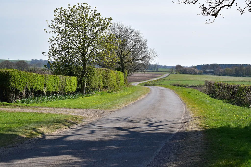 Lincolnshire Wolds scenery Tealby
