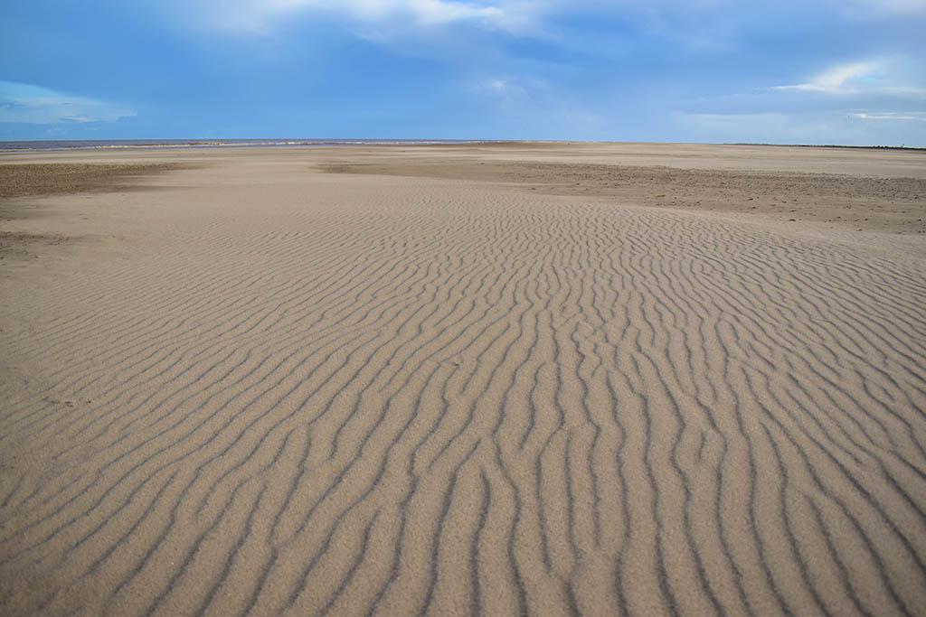 Saltfleet beaches in Lincolnshire