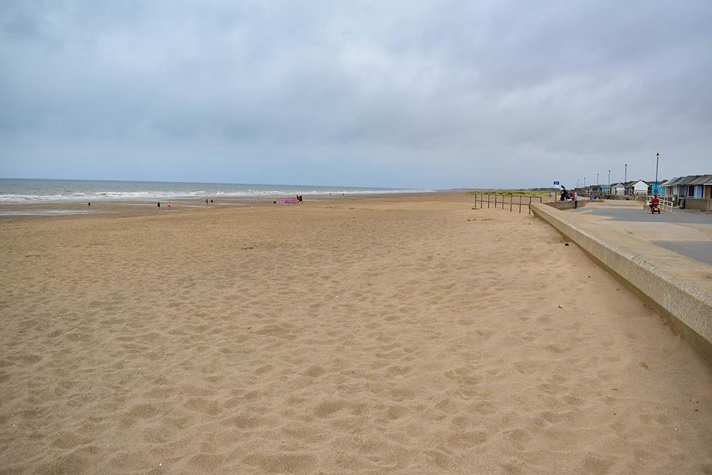 Sutton-on-Sea beaches in Lincolnshire