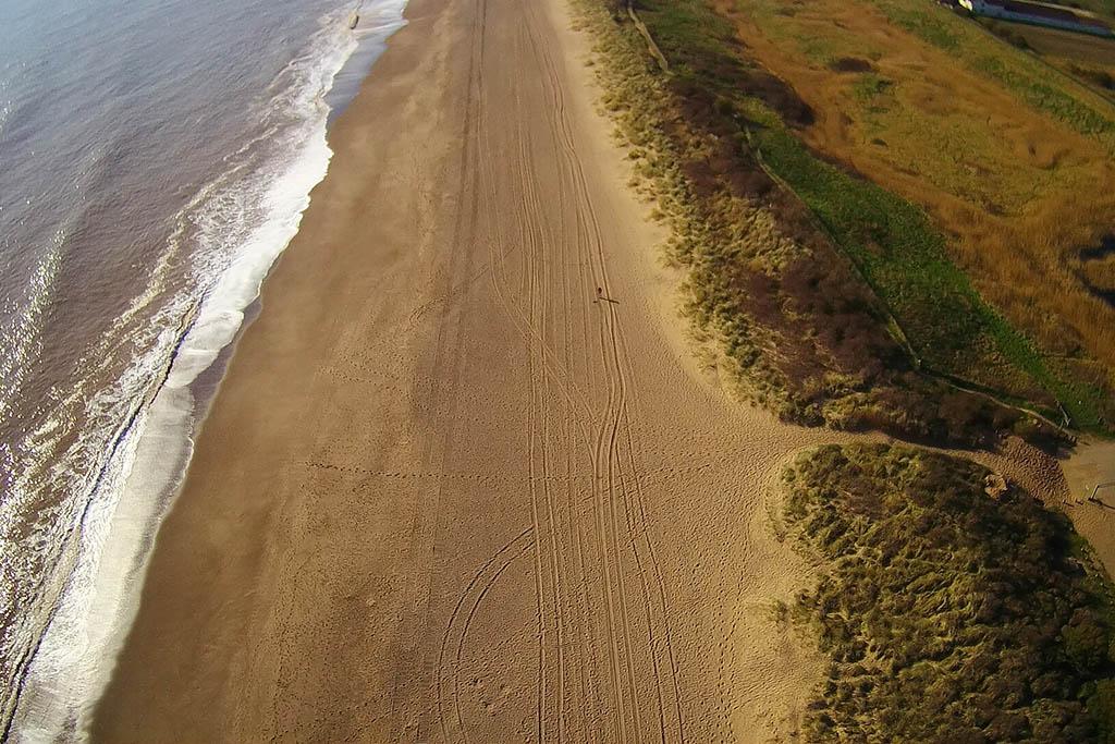 Wolla Bank Beach Lincolnshire