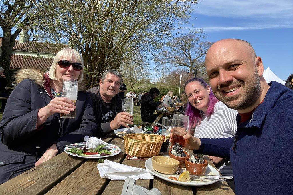 Kings Head Tealby group photo