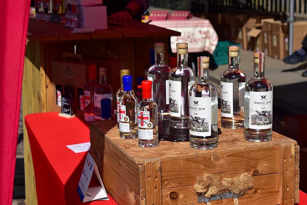 Lincoln Distillery gin farmers market