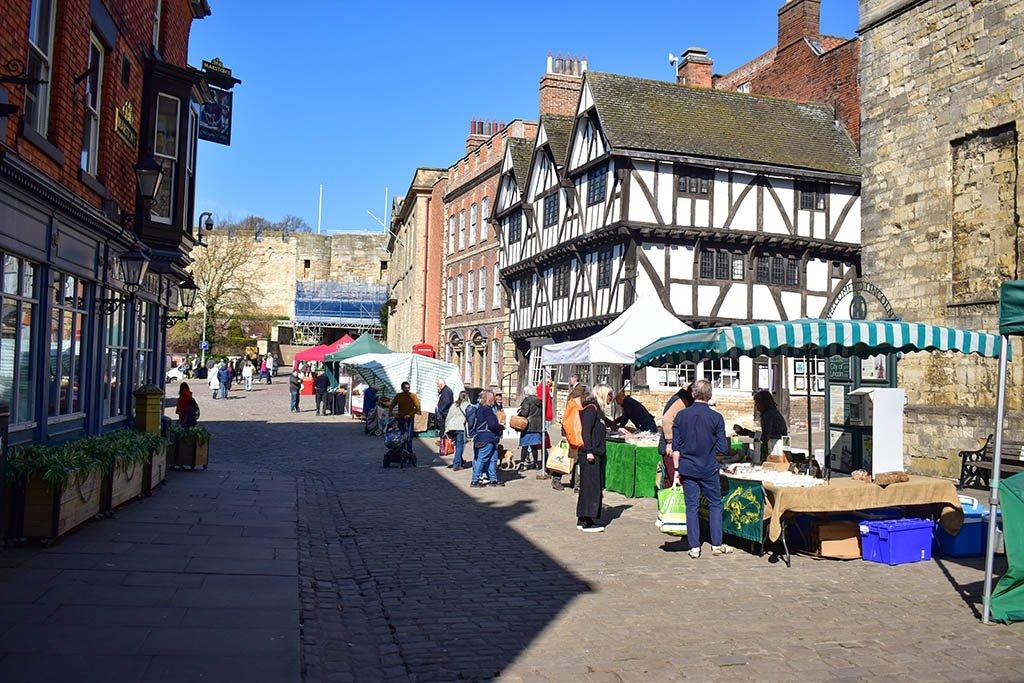 Lincoln Farmers Market Castle Square