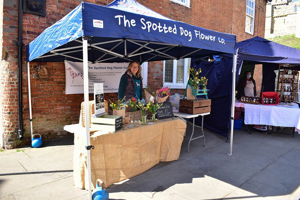 Spotted Dog Flower Lincoln Farmers Market