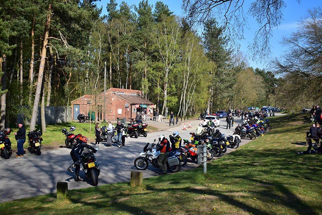Willingham Woods Bikers Meeting Place