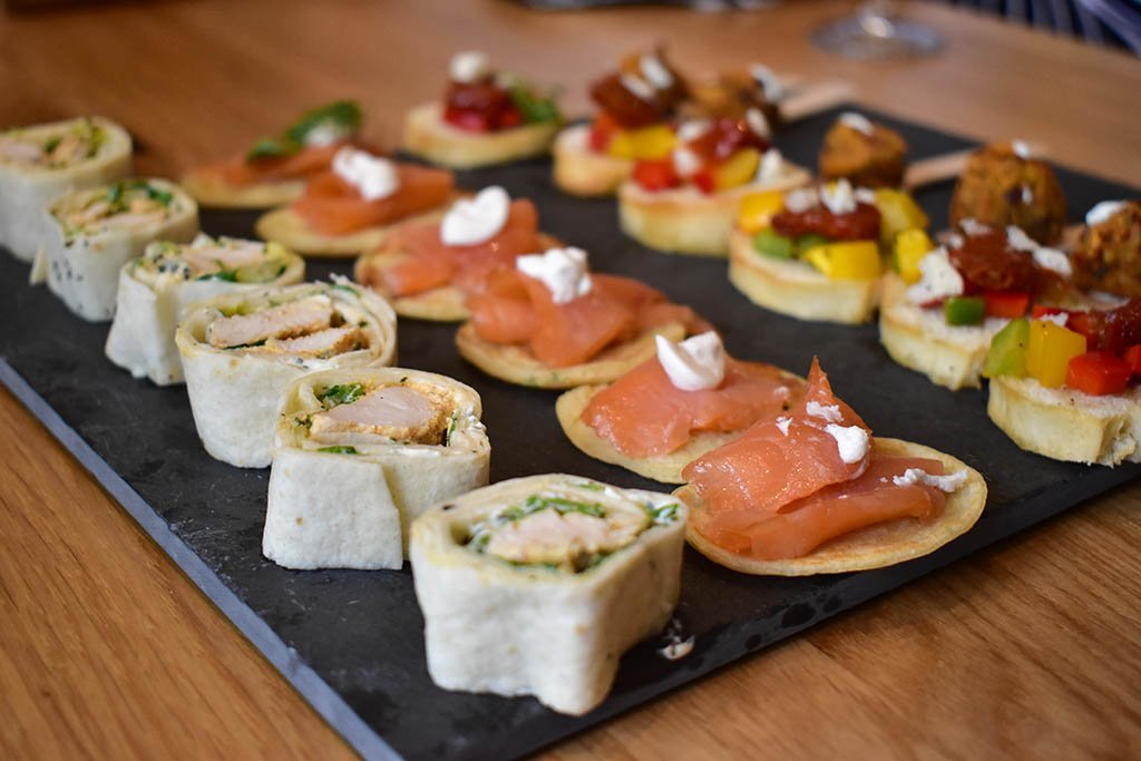 Lincoln Cathedral Cafe canapes