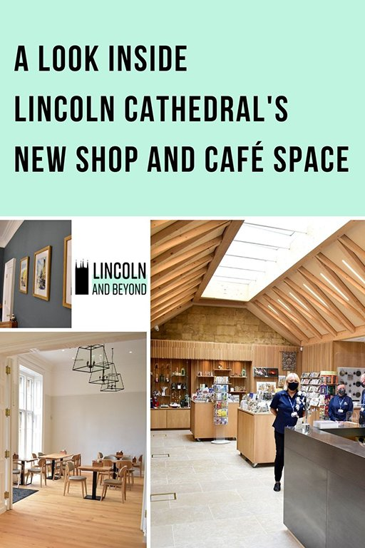 We take a sneak peek at the new-look Lincoln Cathedral shop and café, opening in June 2021 after an extensive renovation. #lincoln #lincolncathedral