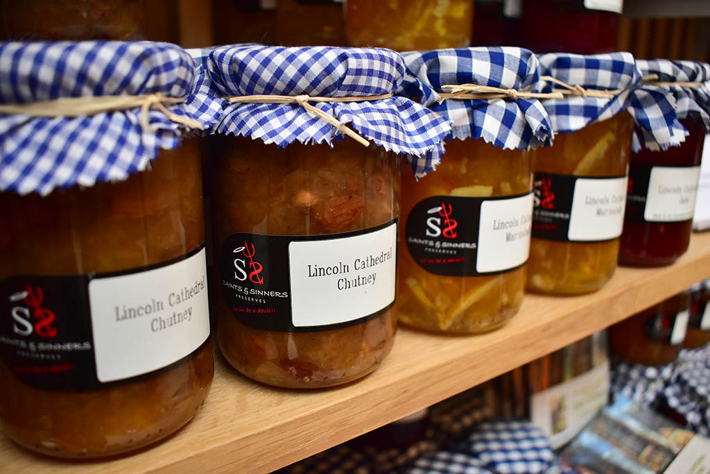 Lincoln Cathedral Shop chutney