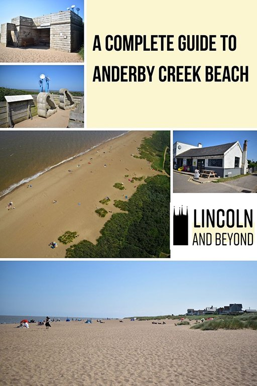 A complete guide to Anderby Creek Beach in Lincolnshire, including, parking, dog-friendly information, activities, campsites and more. #anderbycreek #lincolnshire #eastlindsey #lincolnshirebeaches #ukbeaches