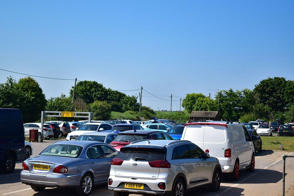 Anderby Creek beach car park