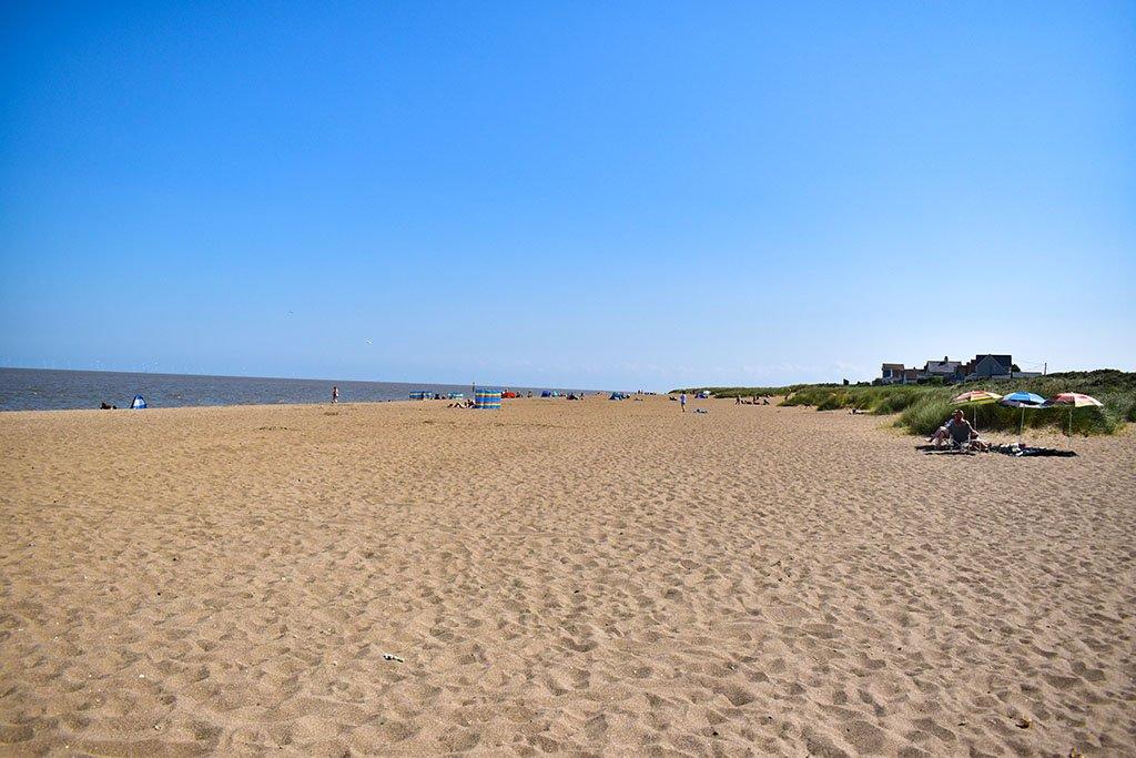 Anderby Creek beach sand