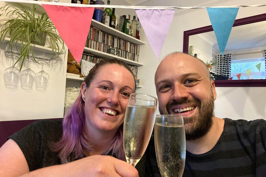 Alex and Lisa Traverse Creator Awards shortlist celebration