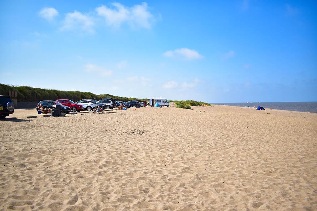 Huttoft Beach north