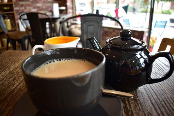Smiths Tea Room Lincoln pot