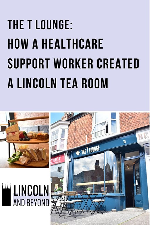 NHS worker Anne Reeves tells the story of how she opened the T Lounge, a new Lincoln tea room, in the middle of a pandemic. #tearooms #lincoln #lincolnuk