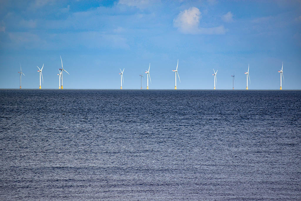 Wind farms from Moggs Eye