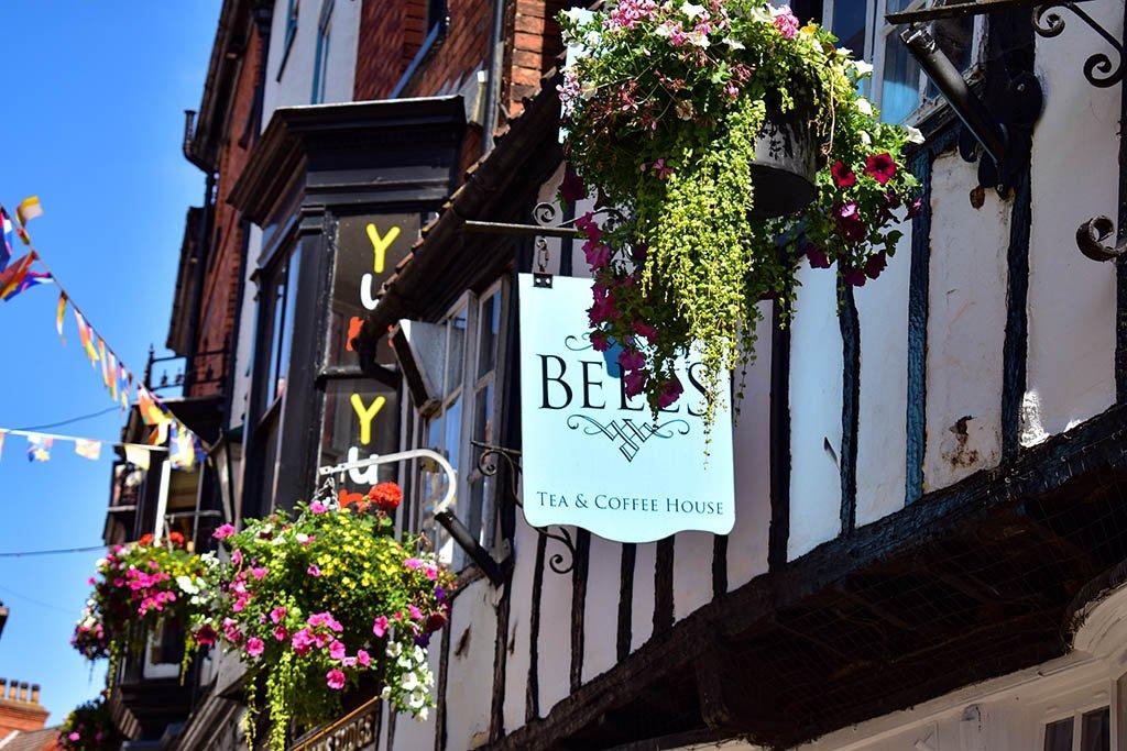 Bells Tea Shop Steep Hill Lincoln