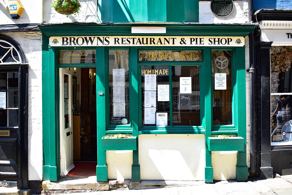 Browns Restaurant and Pie Shop Lincoln
